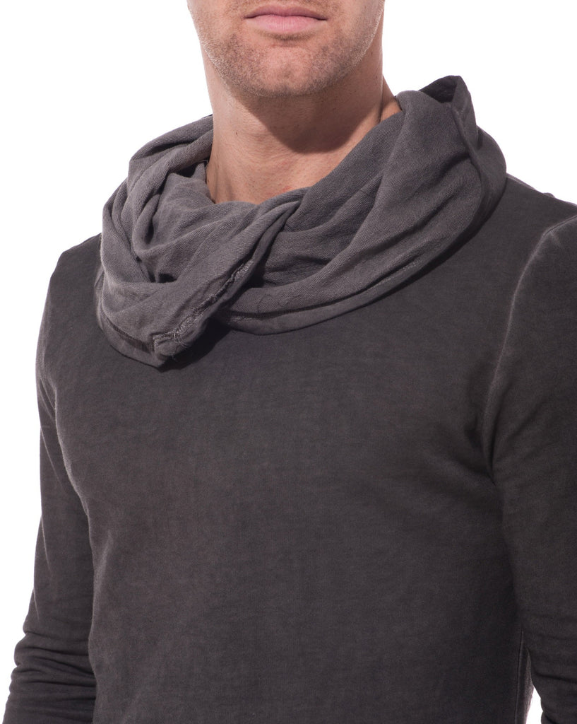 Pull sweat léger gris anthracite