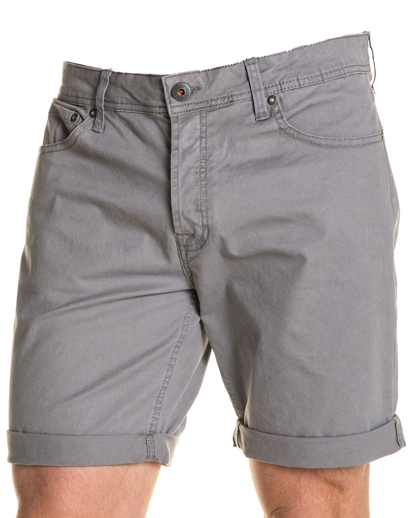 Short chic chino gris clair homme
