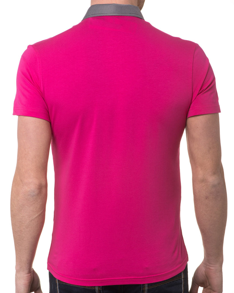 Polo Homme Fashion Rose