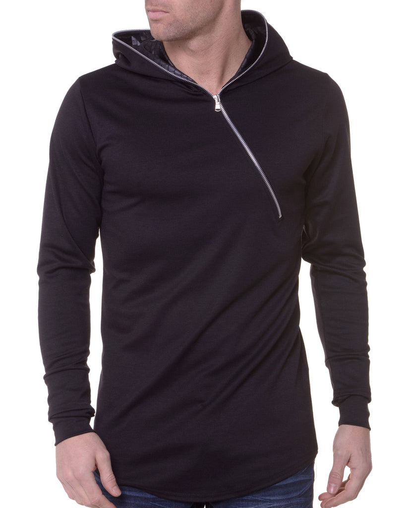 Sweat Homme Col Capuche Serpent
