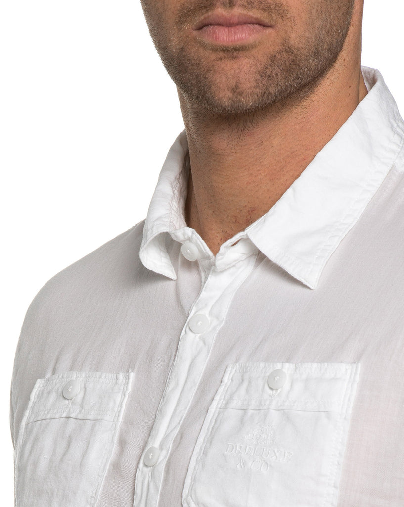 Chemise Homme Unie Blanche