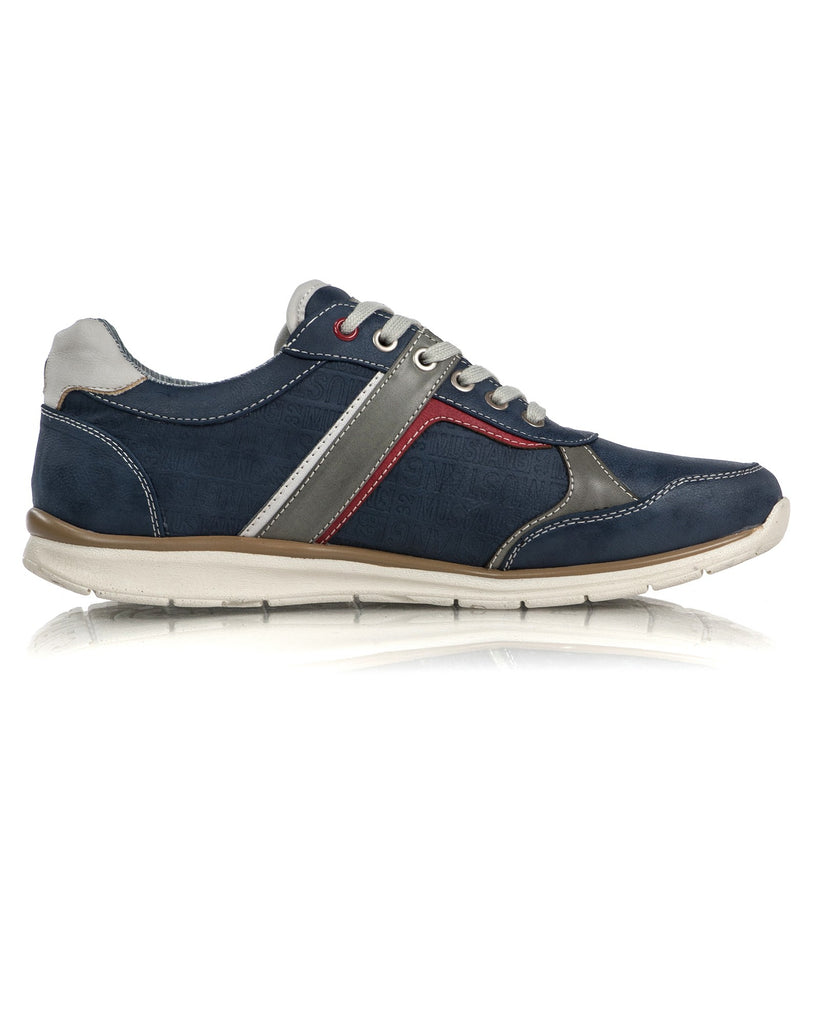 Baskets Homme Navy A Lacets