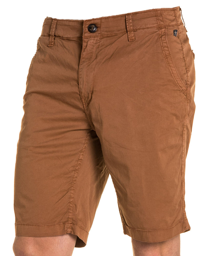 Short homme chic marron
