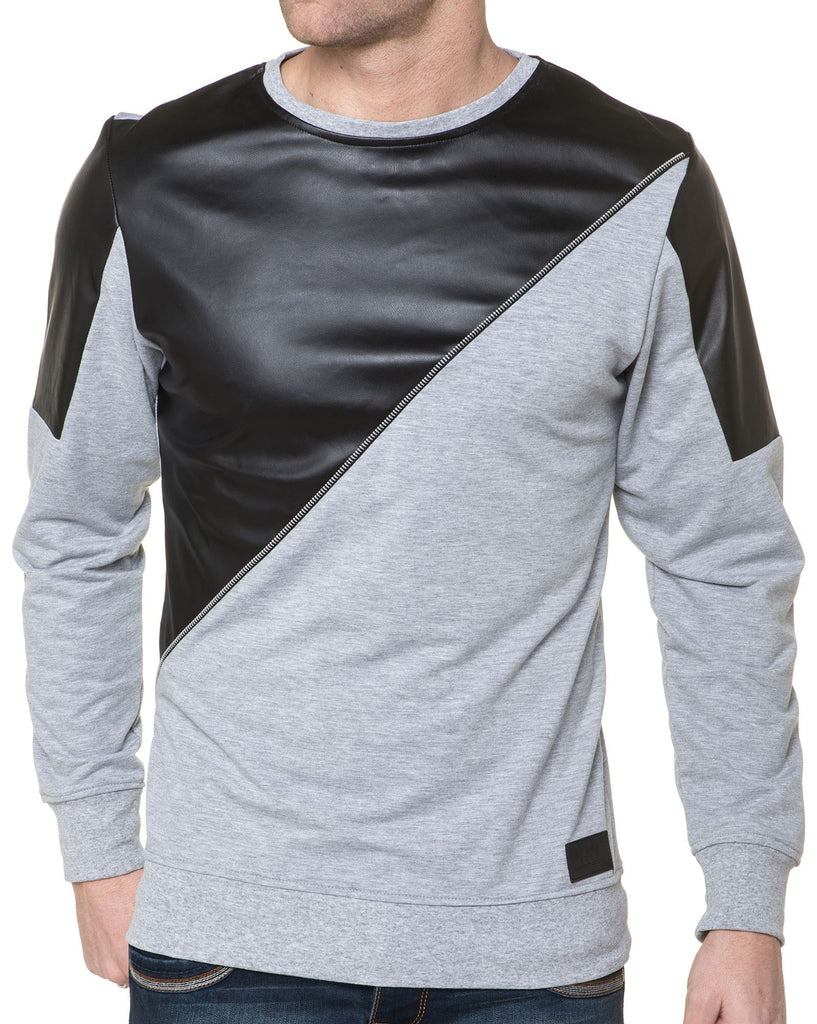 Sweat Original Simili Cuir Homme