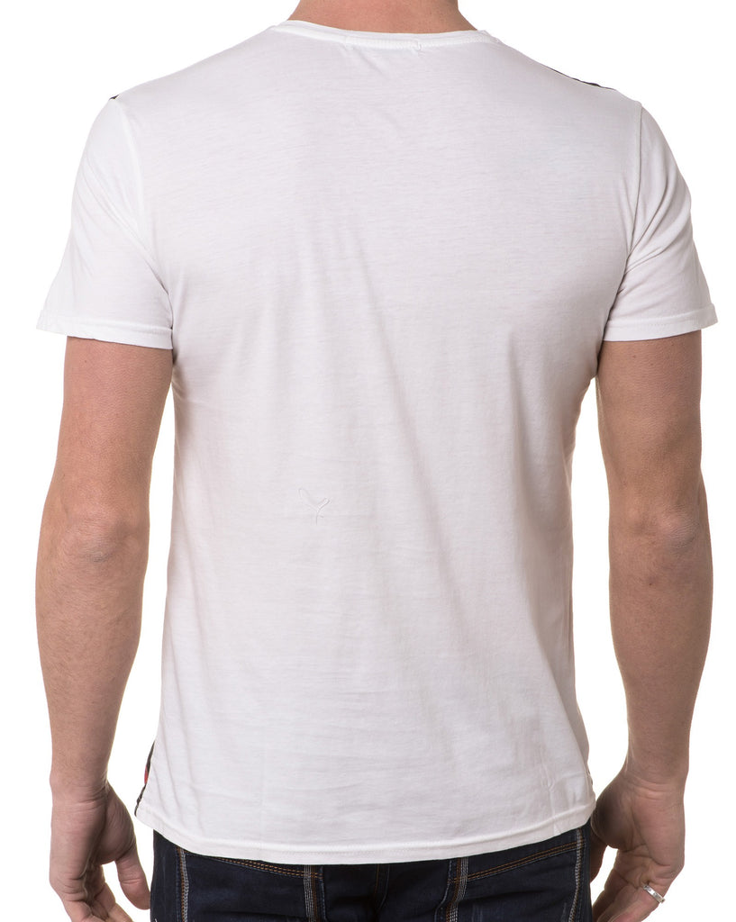 T-Shirt Tendance Col Rond Homme