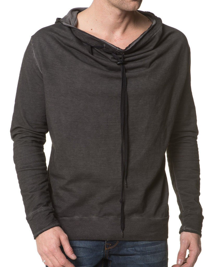 Sweat Homme Anthracite Délavé