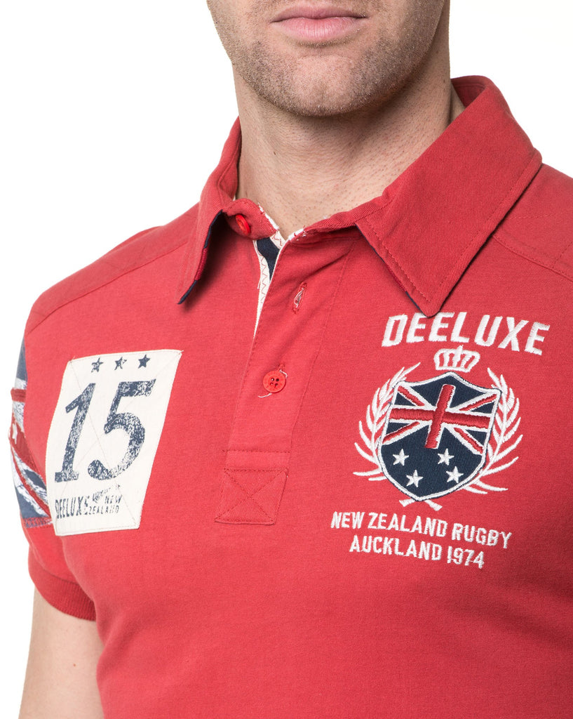 Polo Homme Broderie Rugby