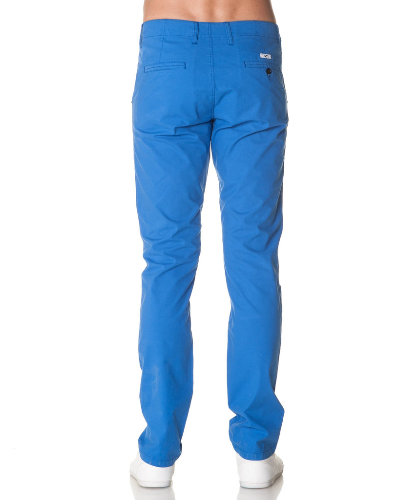 Pantalon Chino Homme Bleu Royal