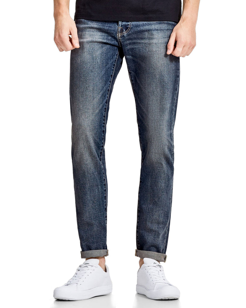 Jean homme bleu coupe confort mike