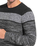 Pull fin homme gris anthracite