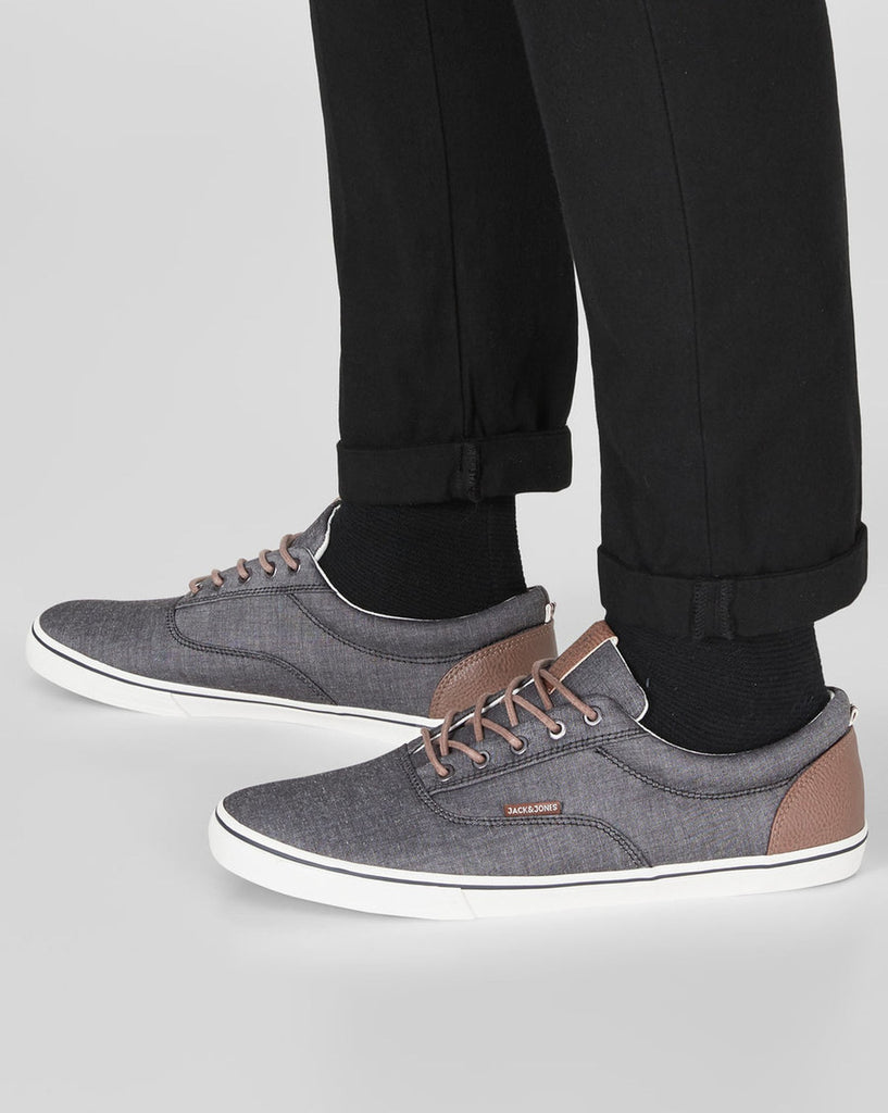 Basket casual basse gris anthracite