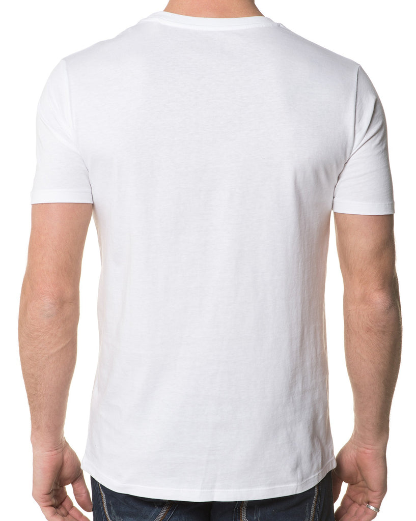 T-Shirt Blanc Homme Couturier
