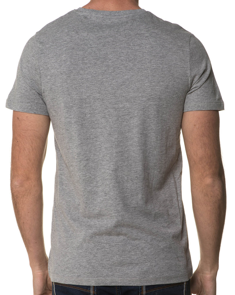 Tee-Shirt Homme Gris Hexagone