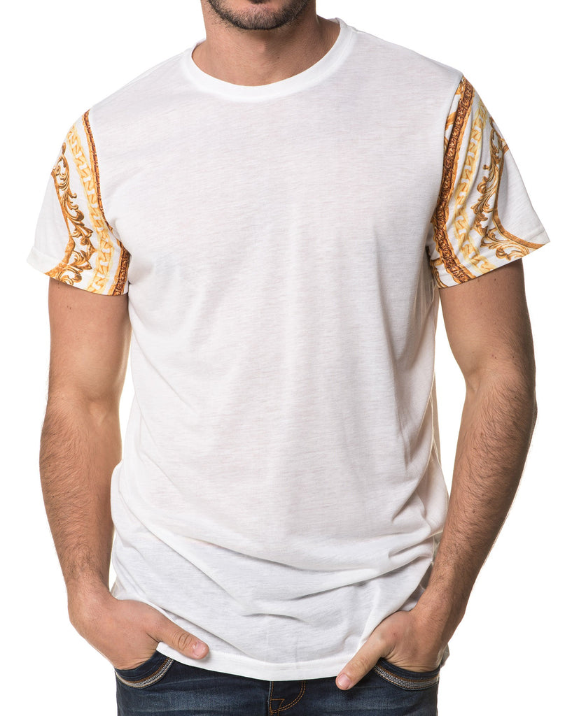 T-Shirt Homme Manches Courtes Chaines