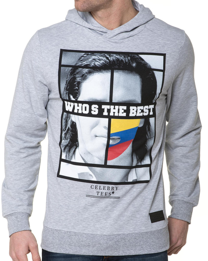 Sweat Gris Homme Imprimé Colombie