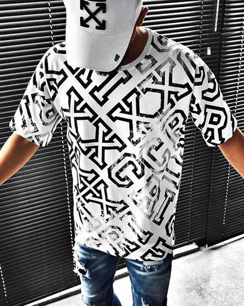 Automne Loose Fashion Casual Shirt /à Manches Longues style/_dress Tee Shirt Blanc Homme Pull Long Homme Tee Shirt Homme Pas Cher