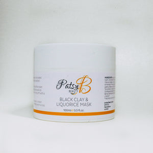 Black Clay and Liquorice Brightening Mask 100ml