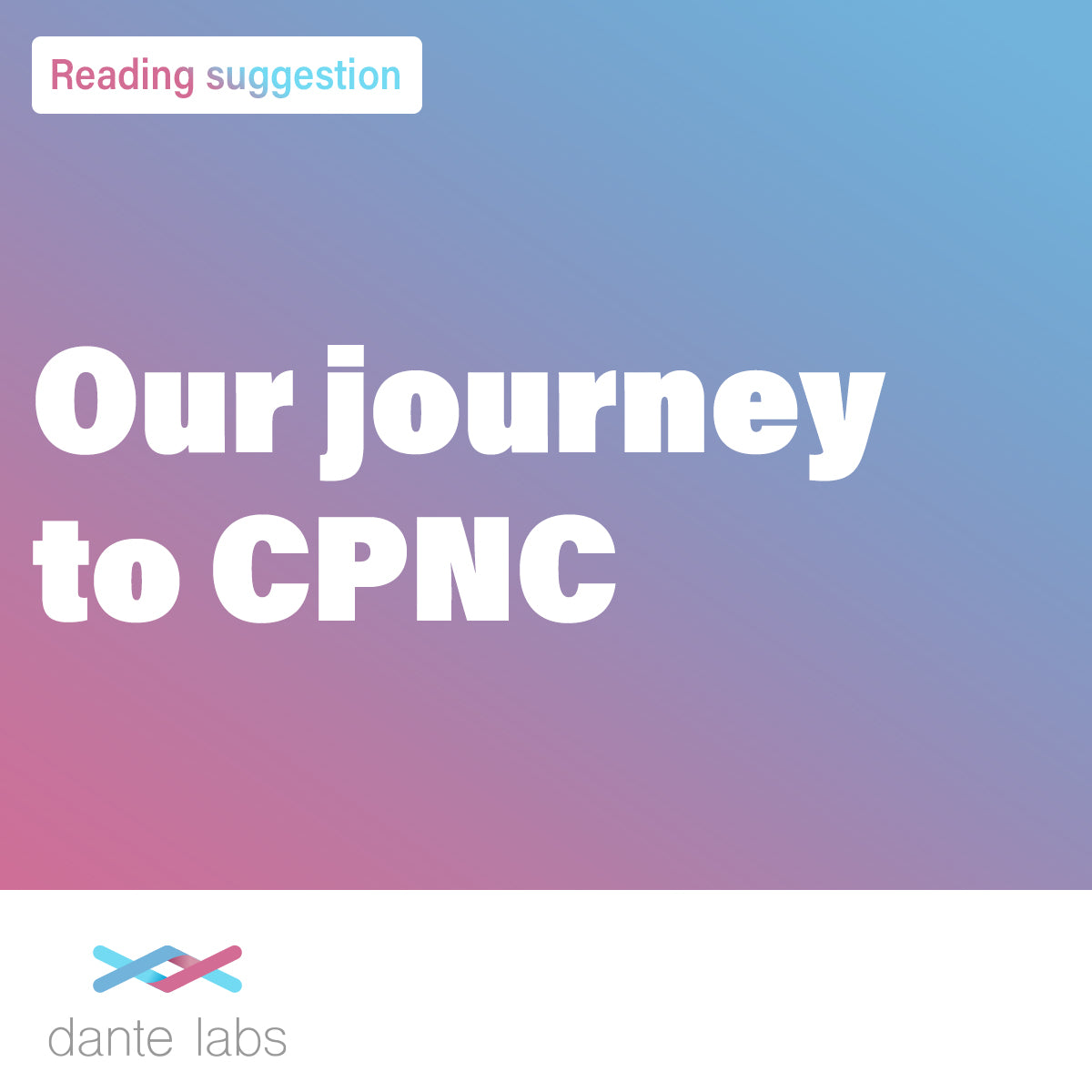 Our journey to CPNC
