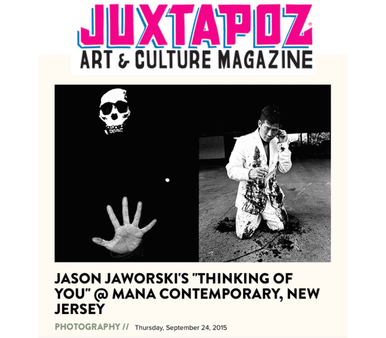 Jason Jaworski Solo Show Thinking Of You Juxtapoz