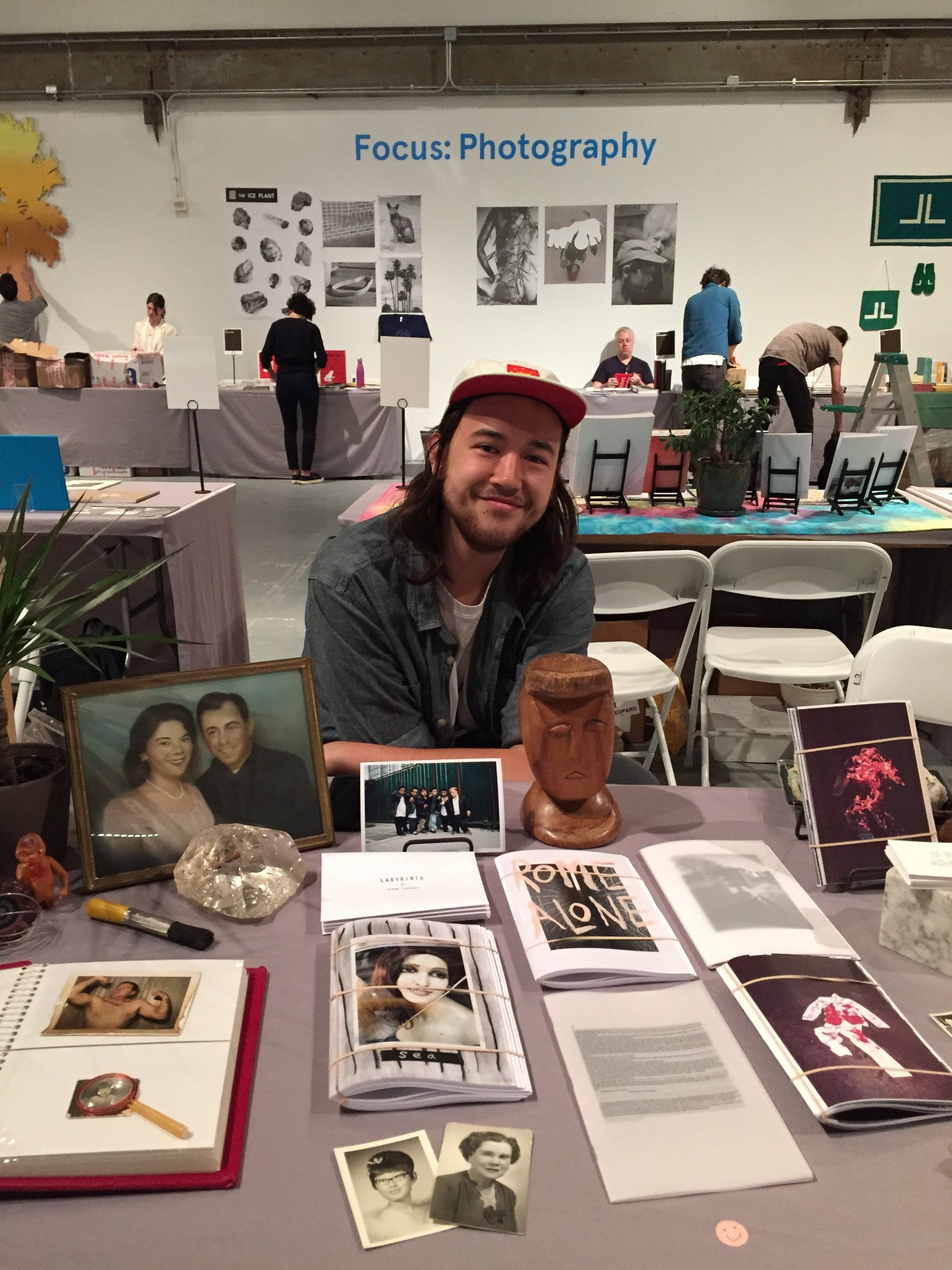 Jason Jaworski X SSK Press X LA ART BOOK FAIR 2015