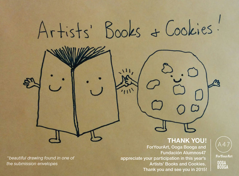 SSK Press Jason Jaworski Drawing for Artists' Books and Cookies w/ ForYourArt Ooga Booga Almunos47