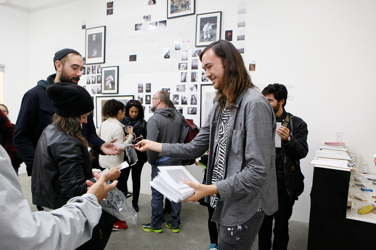 Jason Jaworski Thinking Of You Artist Talk Photobook Release