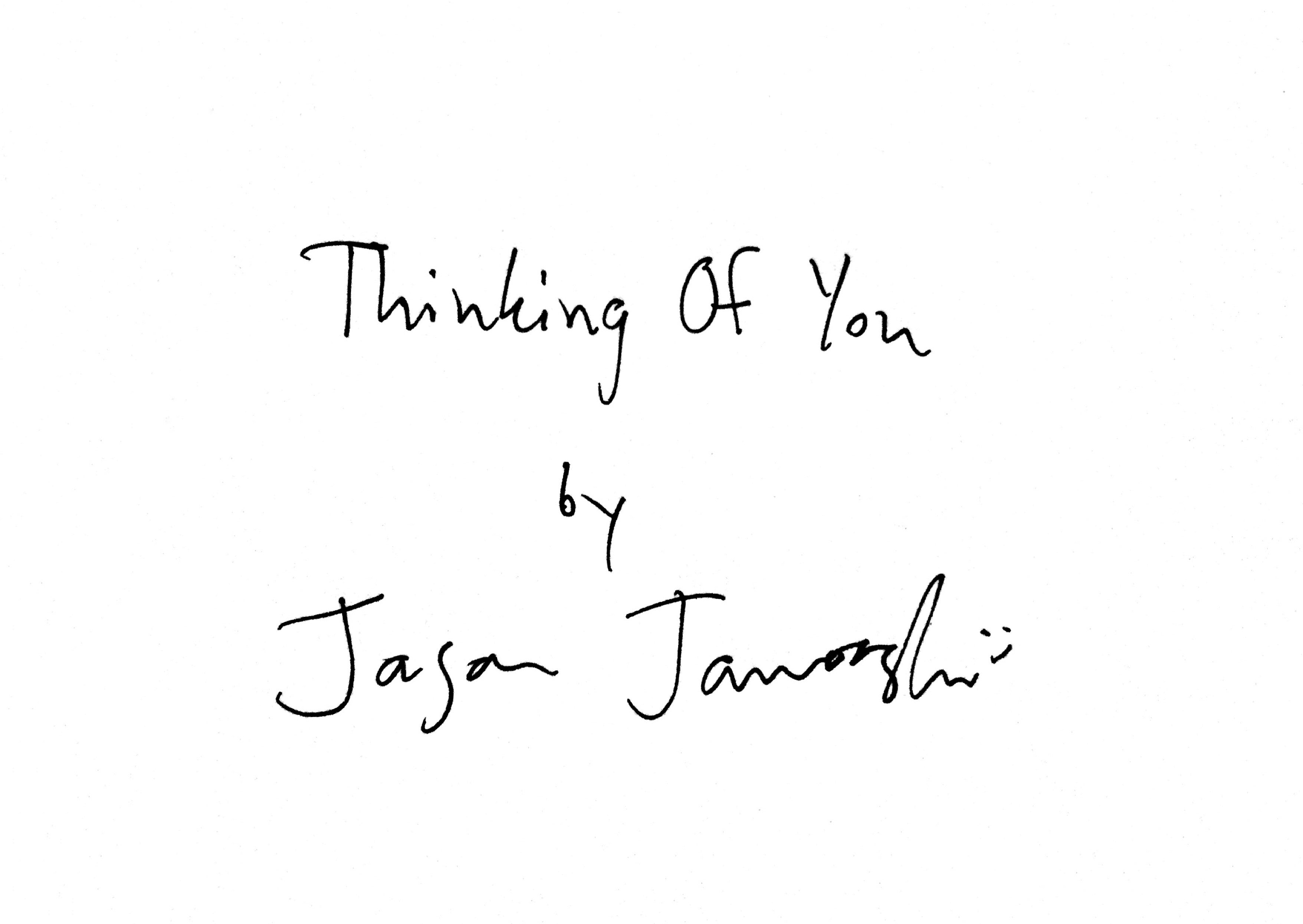 Jason Jaworski Thinking Of You Exhibition Art Book Preorder
