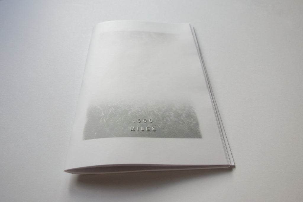 1000 Miles Vol. 5 Zine by Jason Jaworski