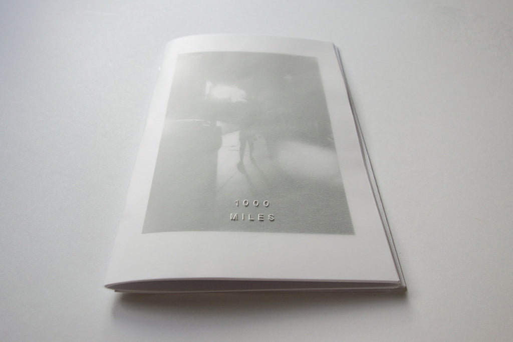 1000 Miles Vol. 9 Zine by Jason Jaworski