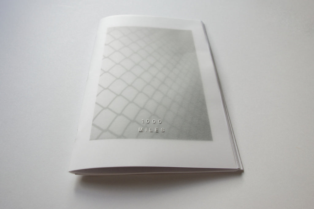 1000 Miles Vol. 10 Zine by Jason Jaworski