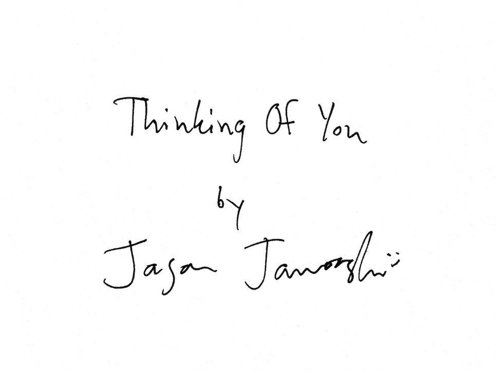 Thinking Of You Artist Book Preorder