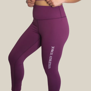 Leggings - Plum
