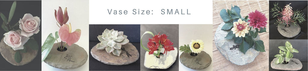 Small sized arrangements to suit a small slate vase