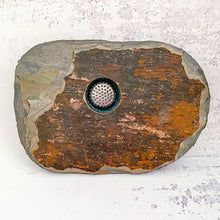 Load image into Gallery viewer, classic small slate vase dark stone