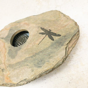 SOLD - SMALL with Dragonfly Etching
