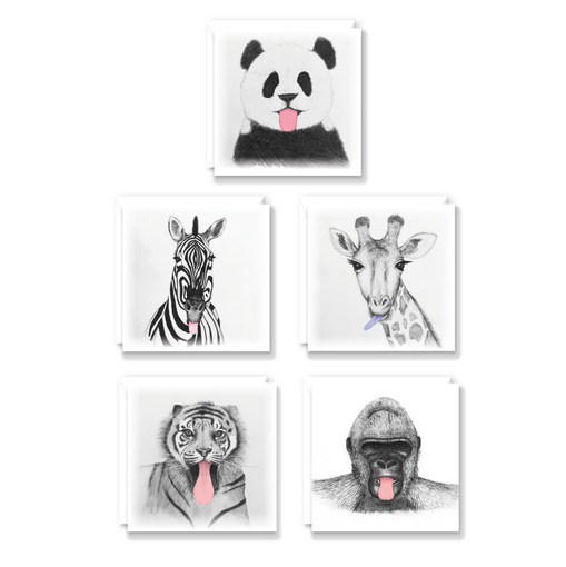 Cheeky Animals Card Pack