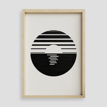 Load image into Gallery viewer, Minimalist Sunset Wall Art Print