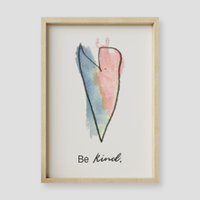 Load image into Gallery viewer, Be Kind Wall Art Print
