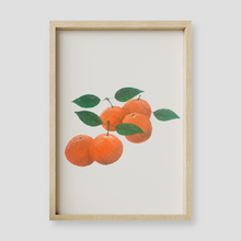 Load image into Gallery viewer, White Clementine Floral Wall Art Print
