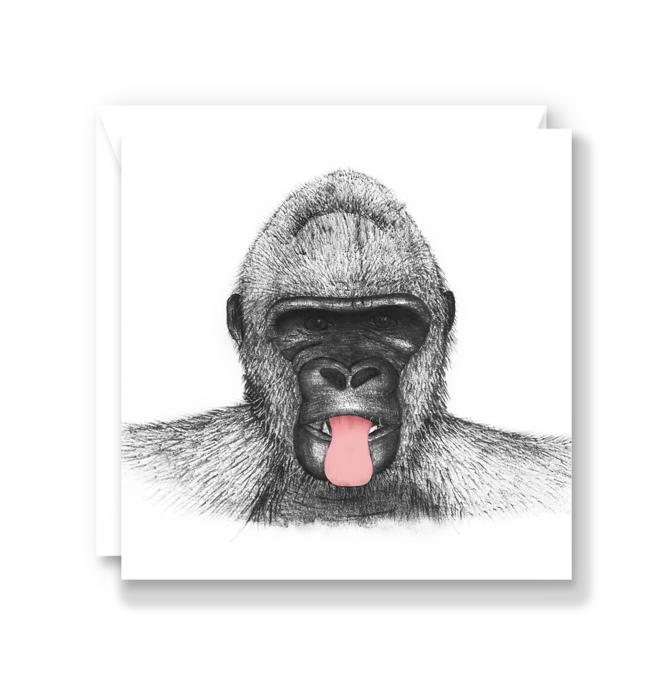 Cheeky Gorilla Card