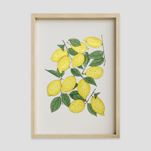 Load image into Gallery viewer, Lemon Wall Art Print