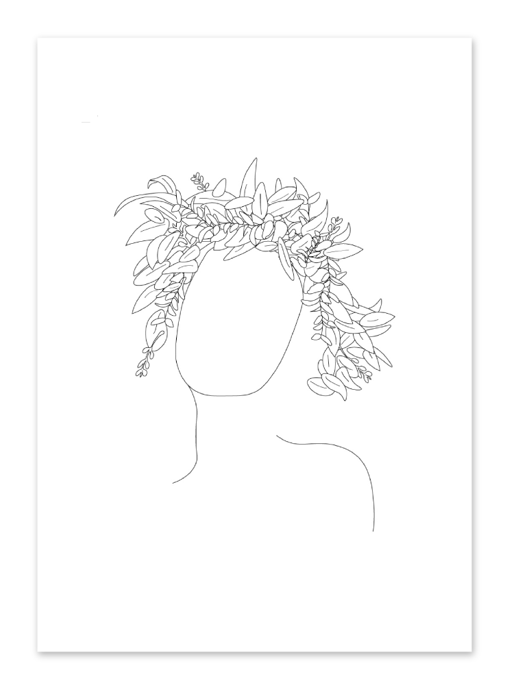 Personalised Line Drawing