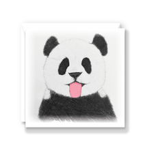 Load image into Gallery viewer, Cheeky Panda Greeting Card