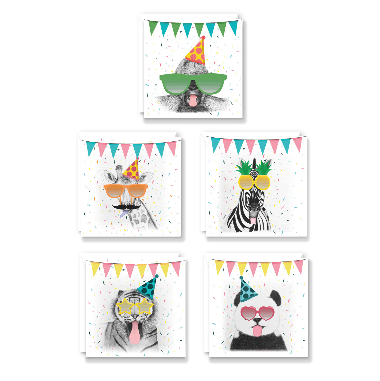 Super Cheeky Animals Card Pack
