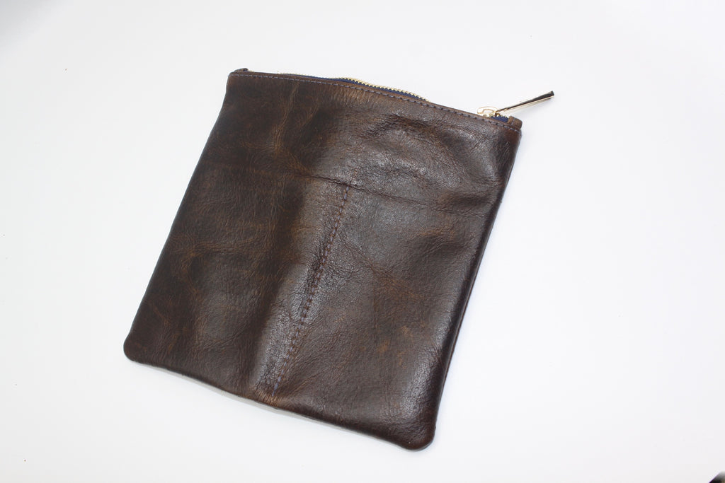 BROWN WHISKEY LEATHER - Asher G