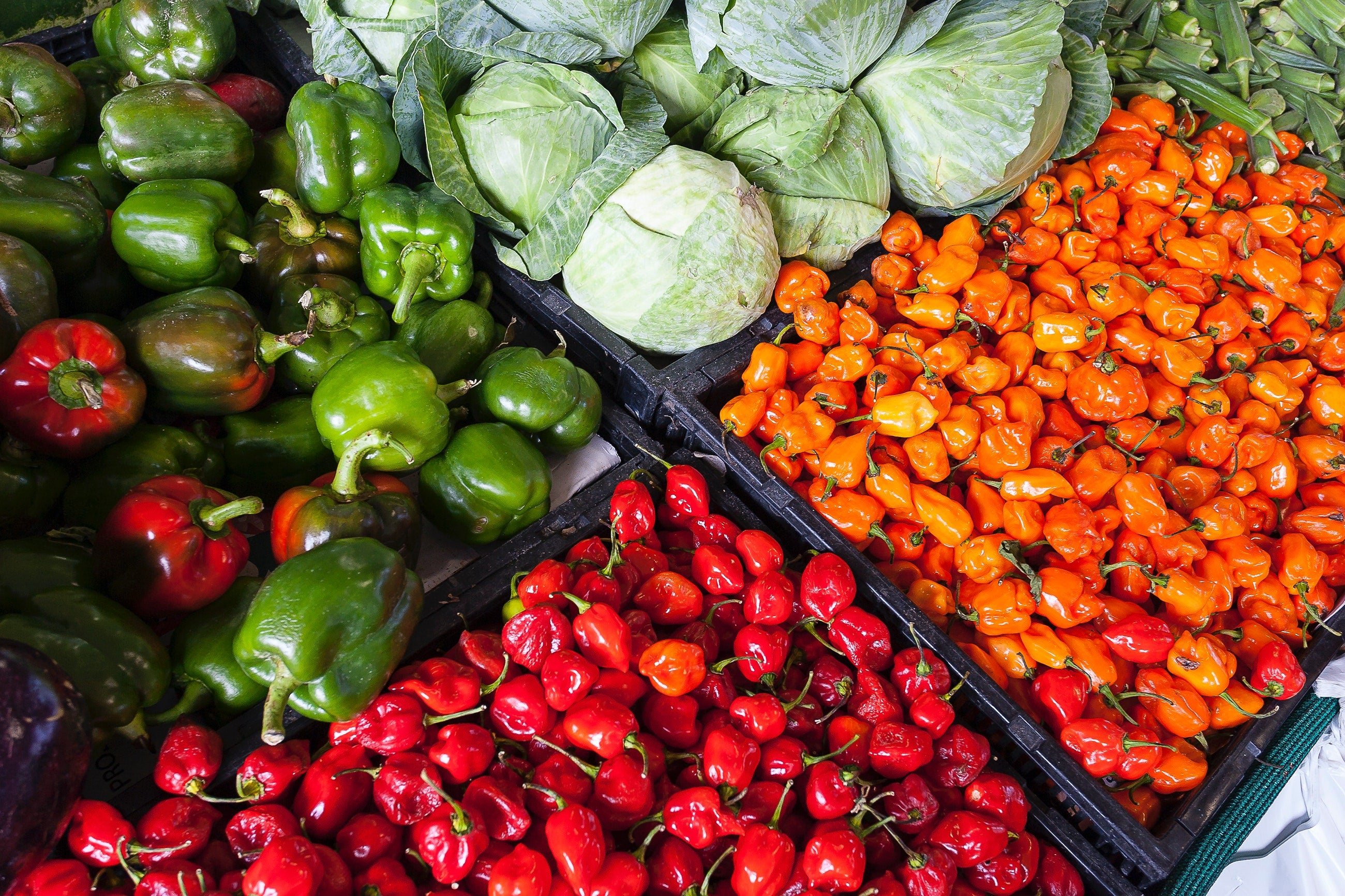 Image of colorful vegetables