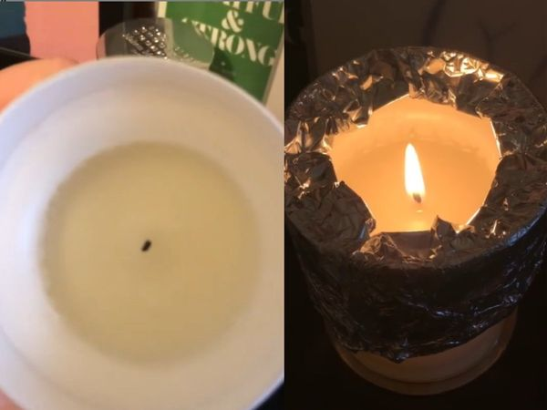Tip: How to fix tunneling candle