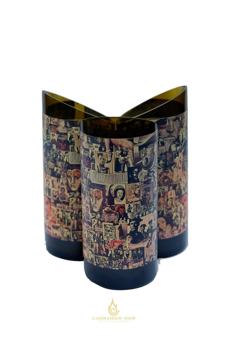 Abstract by Orin Swift Recycled Wine Bottle Candle - Candleholic Shop