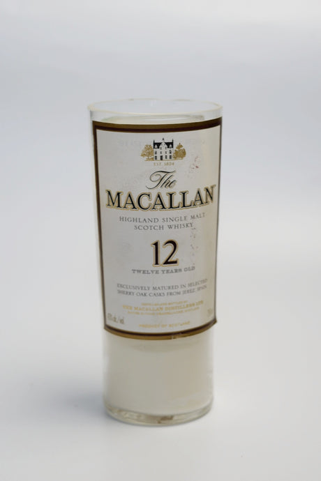 Handmade Soy Candle in Recycling Whiskey Bottle Macallan - Candleholic Shop