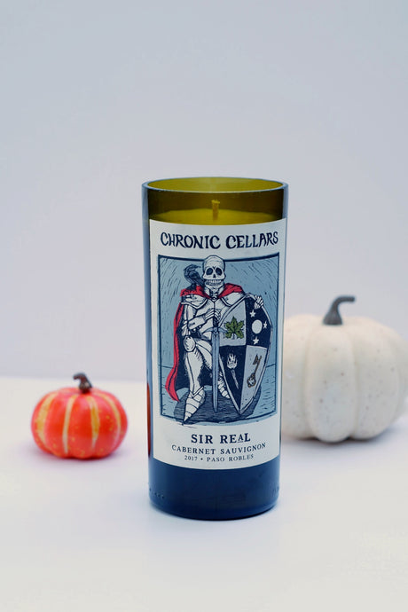 Chronic Wine Bottle Candle - Candleholic Shop